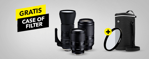 Gratis Tamron case of filter